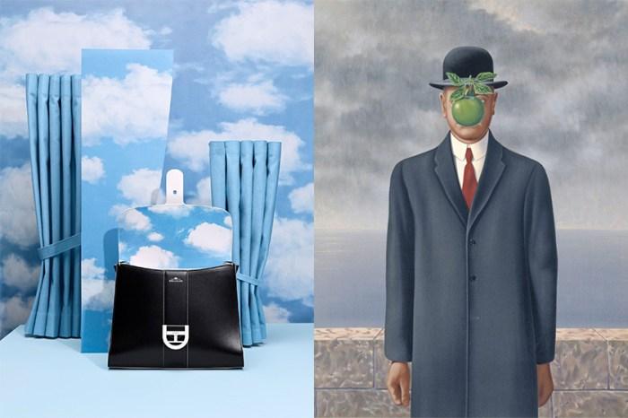 Delvaux 遇上超現實藝術家 René Magritte,為你帶來在雲朵上的手袋系列!