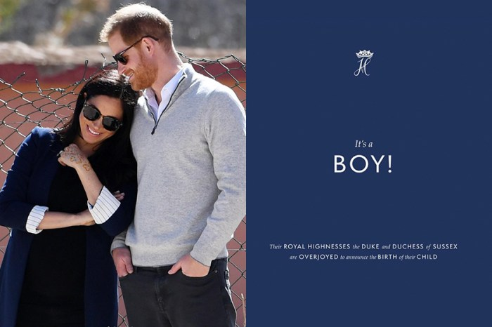 迎接皇室最小成員:Meghan Markle 終於生了,哈里王子迫不及待興奮宣佈喜訊!