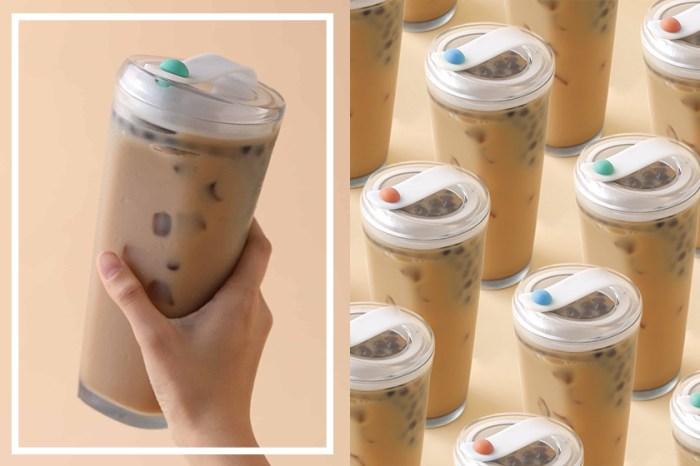手搖杯再升級:這款「不用吸管」的珍珠奶茶杯,近期在網路上瞬間爆紅!