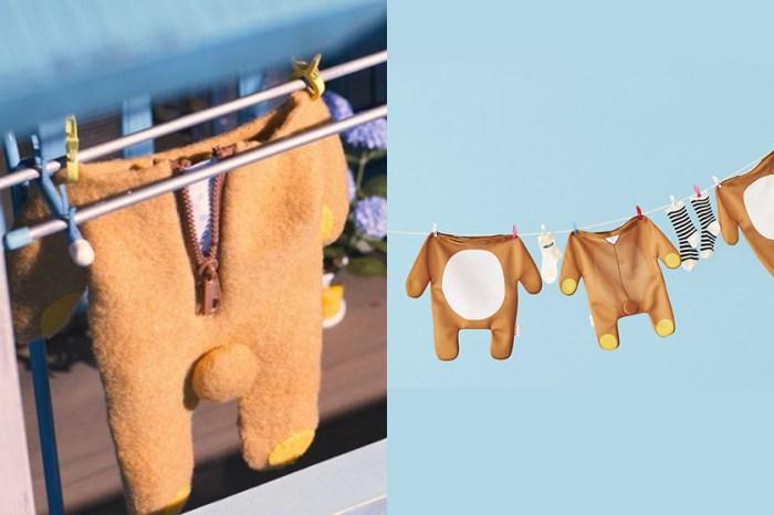 討論度爆燈:日本品牌推出這款「鬆弛熊洗衣袋」,讓做家事變得很療癒!