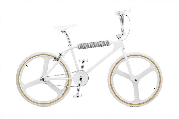 簡約控最愛:Dior Homme 推出這台限量聯乘自行車,純白絕美設計令人驚呼!