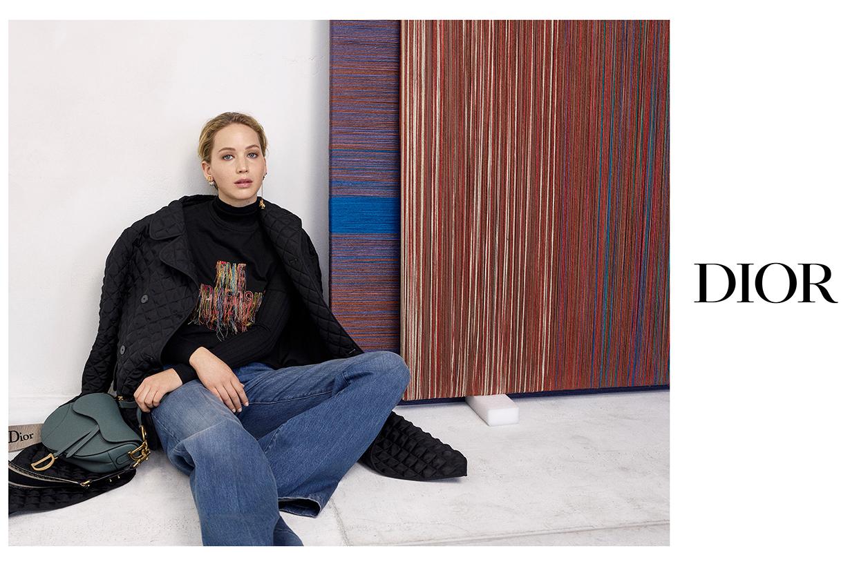 Jennifer Lawrence Dior 30 Montaigne Handbag