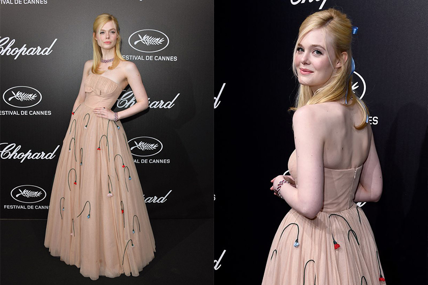 Elle Fanning faints at Cannes dinner due to too tight dress