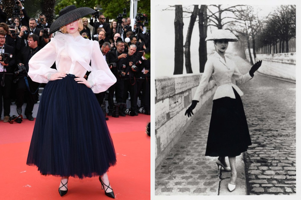 elle fanning cannes 2019 dior new look stunning
