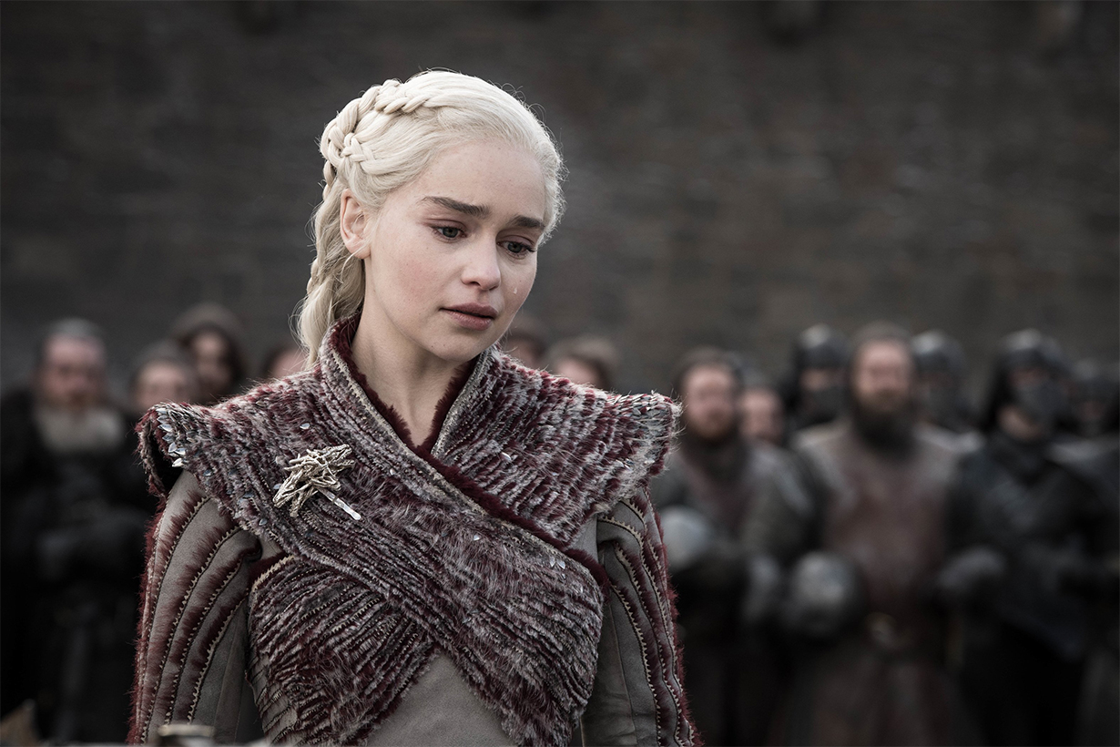 Emilia Clarke Just Reacted to the 'Game Of Thrones' Series Finale