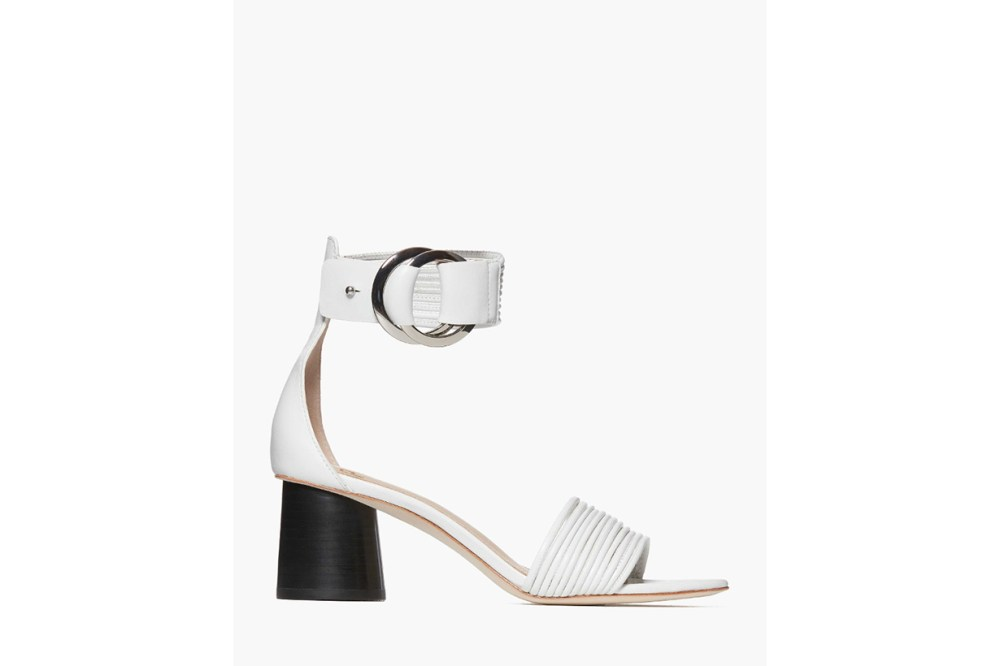 Felicity - White Leather