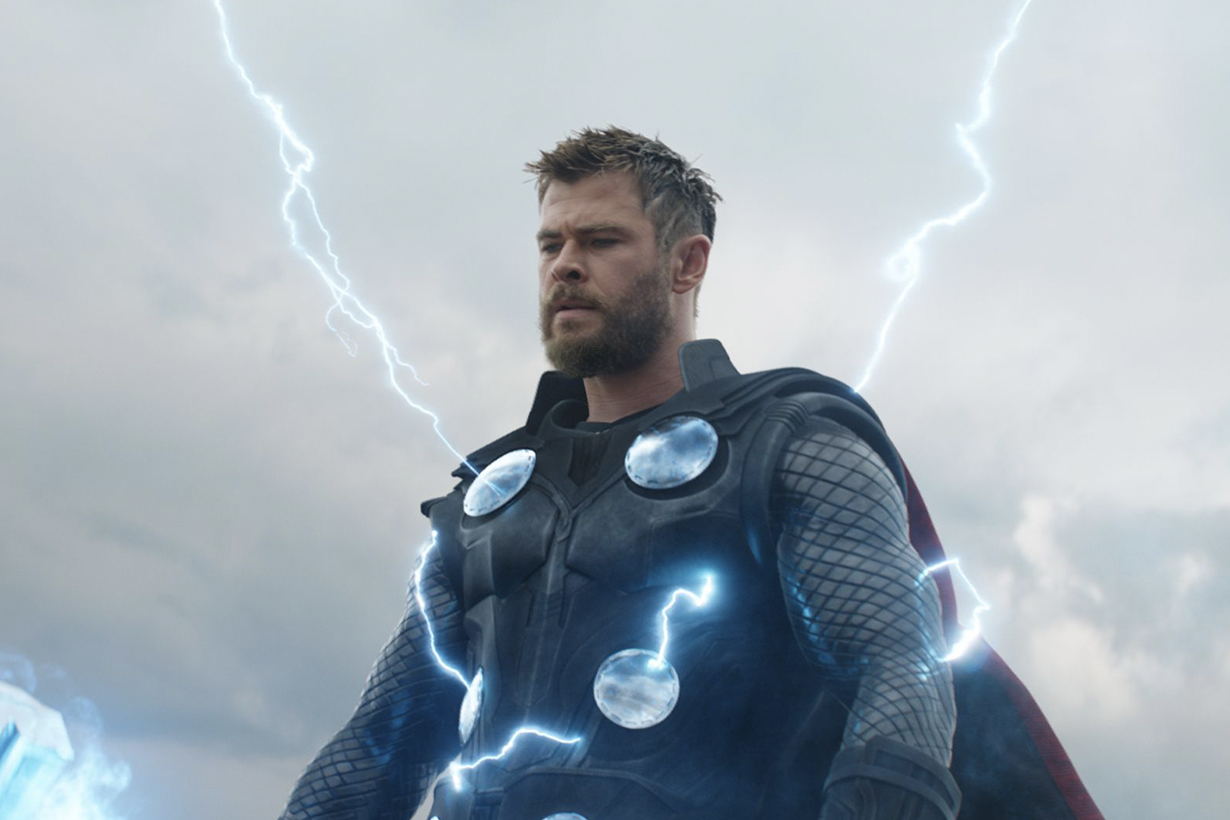 Avengers:EndGame Chris Hemsworth Thor