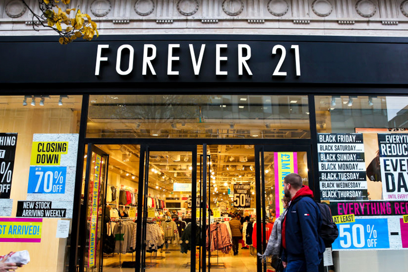 Forever 21 Exit China Market