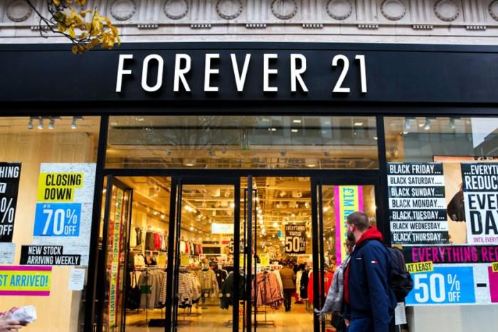 快時尚沒落?Forever 21宣佈退出中國市場!