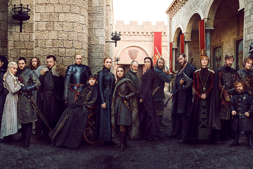 Game of Thrones never before eleased final season photos