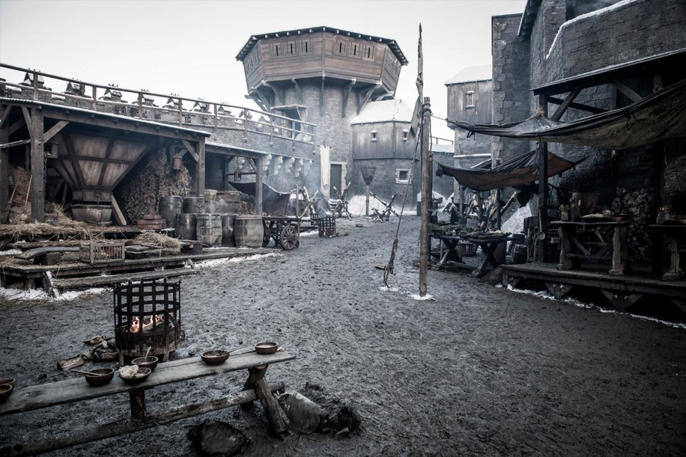 Game of Thrones season eight set and props