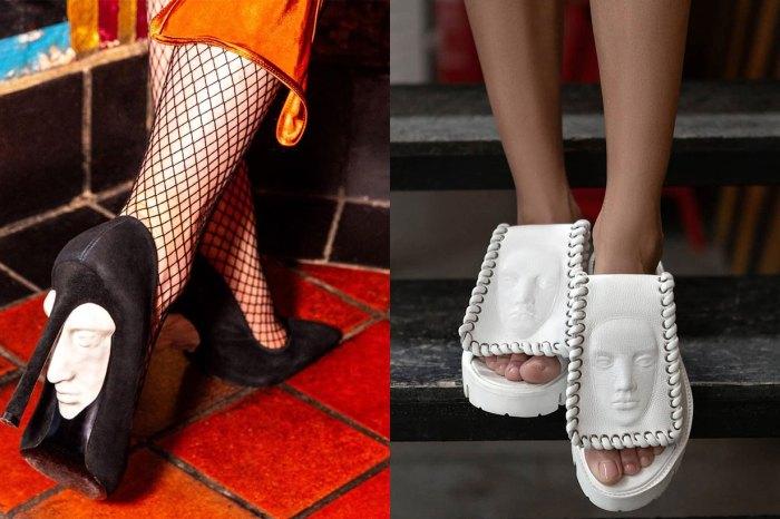 夠膽挑戰這對「人臉鞋」嗎?這英國小眾鞋牌遊走在藝術與恐佈美學之間