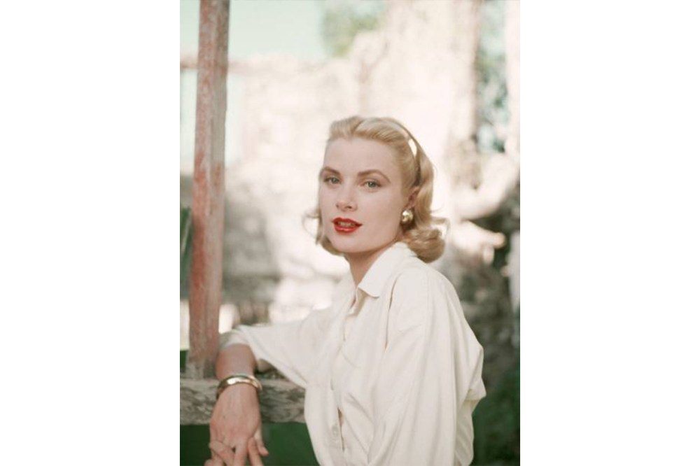 Grace Kelly White Shirt