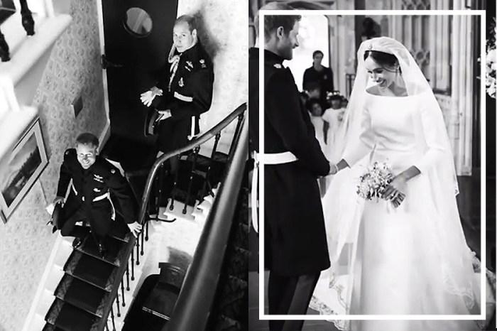 原來當年婚禮背後還有這些照片,Meghan Markle 與哈里在結婚一週年紀念日首次曝光!