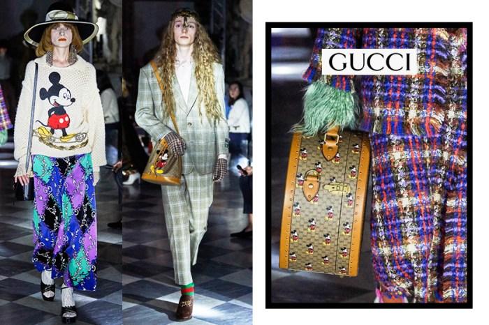 米奇老鼠再襲:集玩味、復古與時尚於一身,Gucci 2020 早春系列登場!