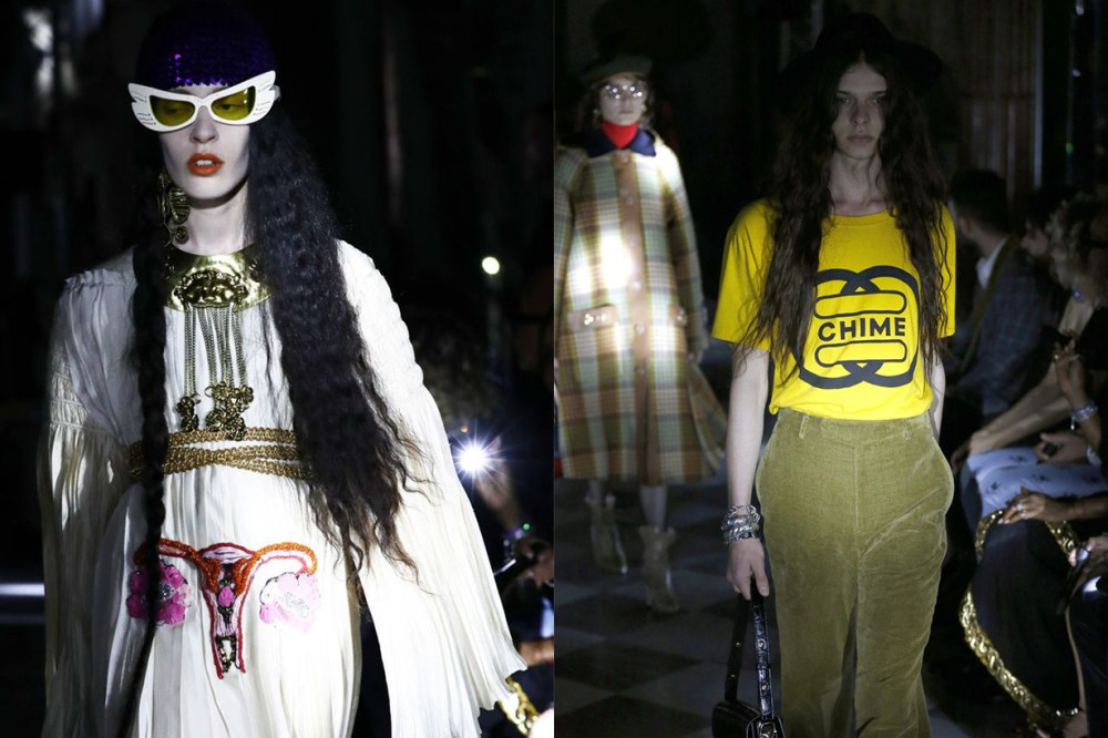 Gucci's Cruise 2020 Collection Supported Women's Reproductive Rights T-shirt