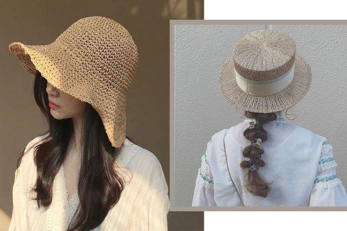 草帽髮型特集!想顯得精緻、就要像日系女生那樣編辮子