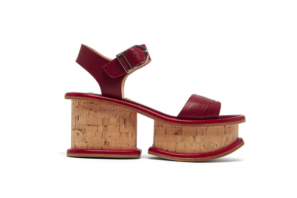 Harrigan Leather and Cork Platform Sandals