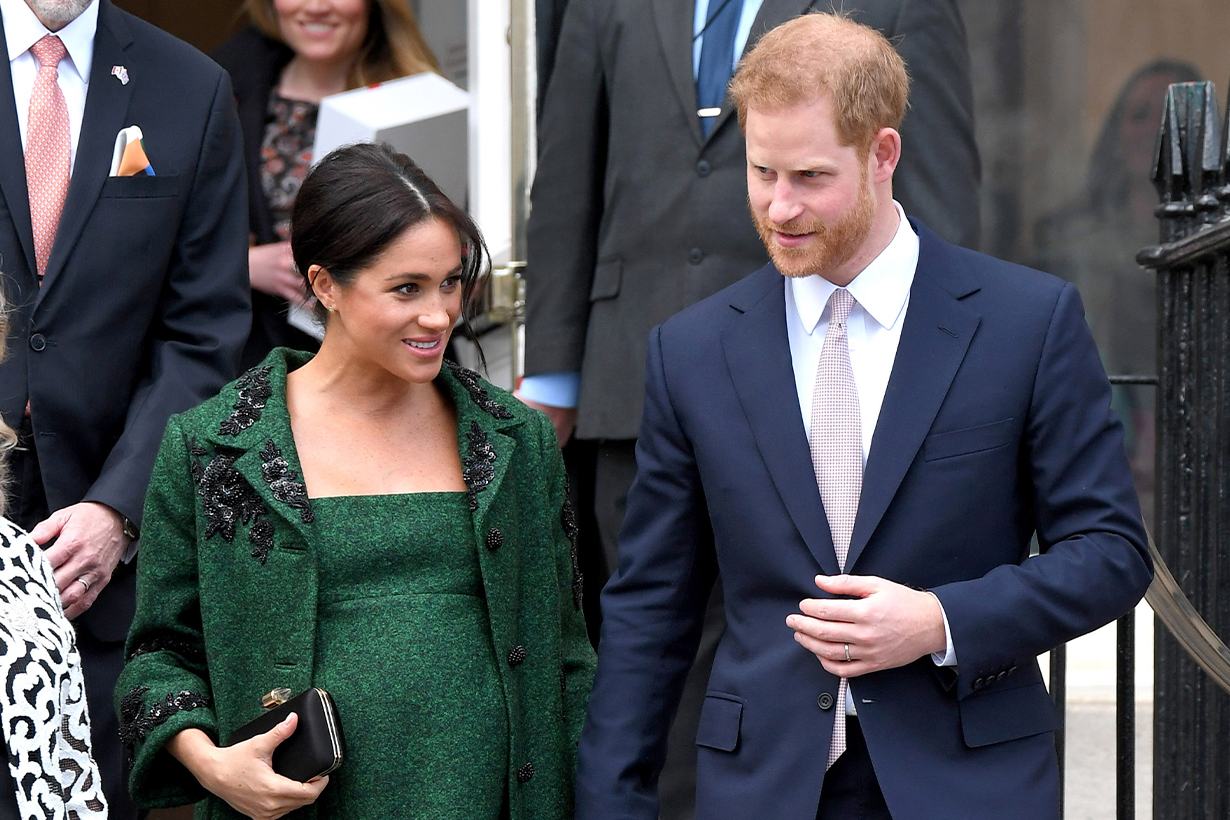 Prince Harry Is Going Out of the Country Next Week When Meghan Markle Could Go Into Labor