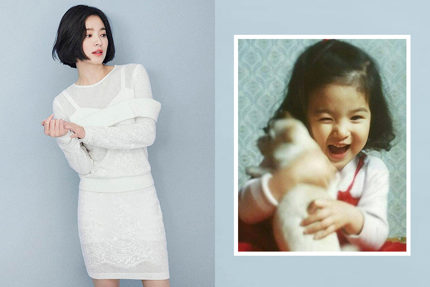 Song Hye Kyo Celebrity Childhood Photos