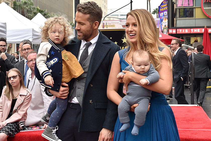 Ryan Reynolds Blake Lively daughters James Reynolds