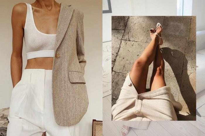 顯瘦+優雅!到了露腿的季節,知性女生都換上了這款 IG 流行短褲