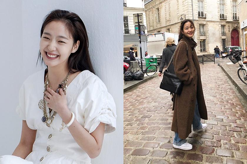 Kim Ko Eun chanel daily look instagram