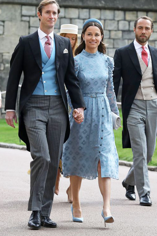 pippa-middleton-lady-gabriella-windsor-royal-wedding-kate-spade-dress