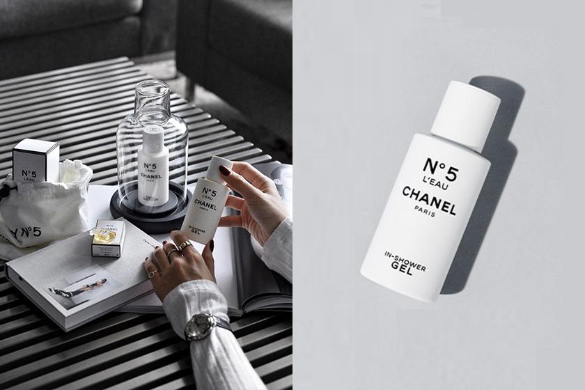 chanel no 5 leau shower gel body lotion