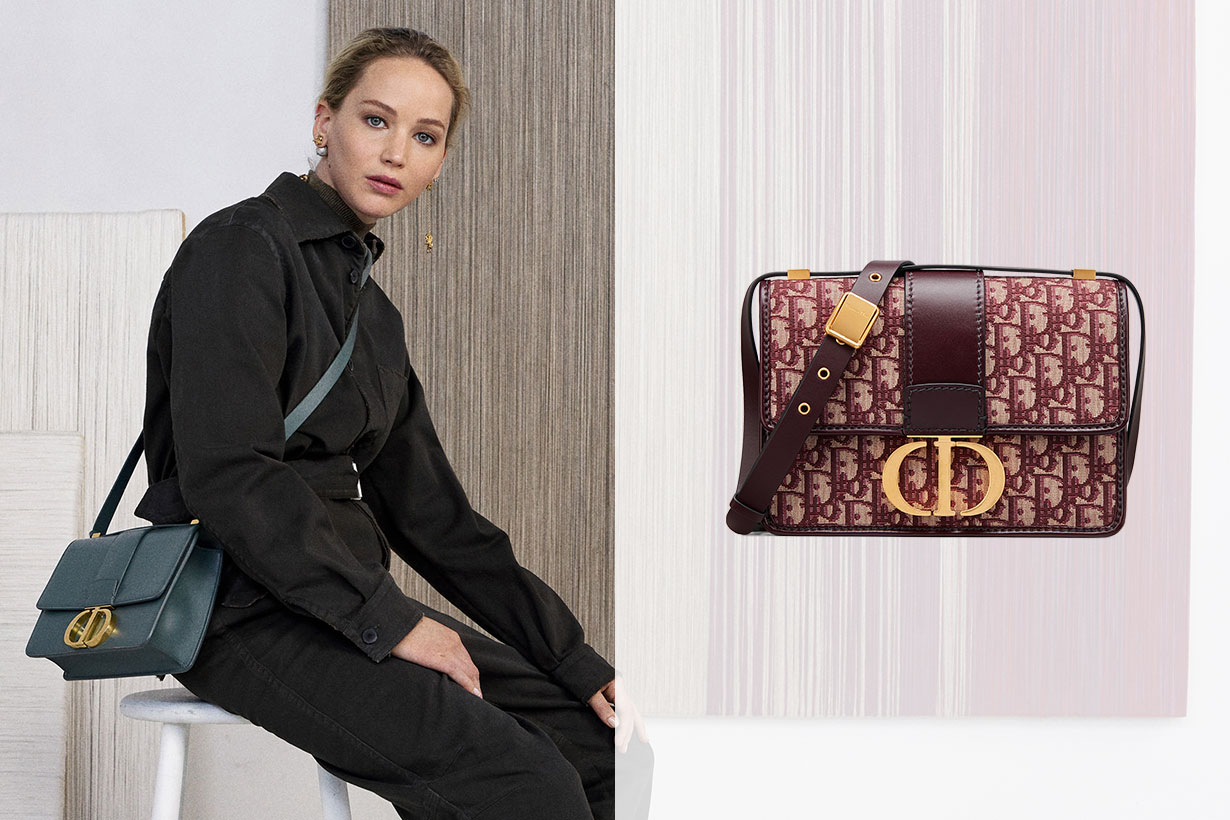 Jennifer Lawrence Dior 30 MONTAIGNE BAG