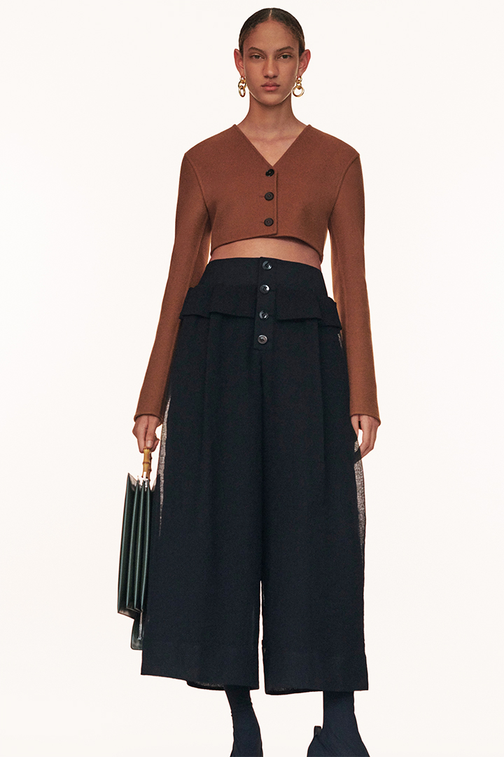 Jil Sander resort 2020 lookbook old celine minimalist