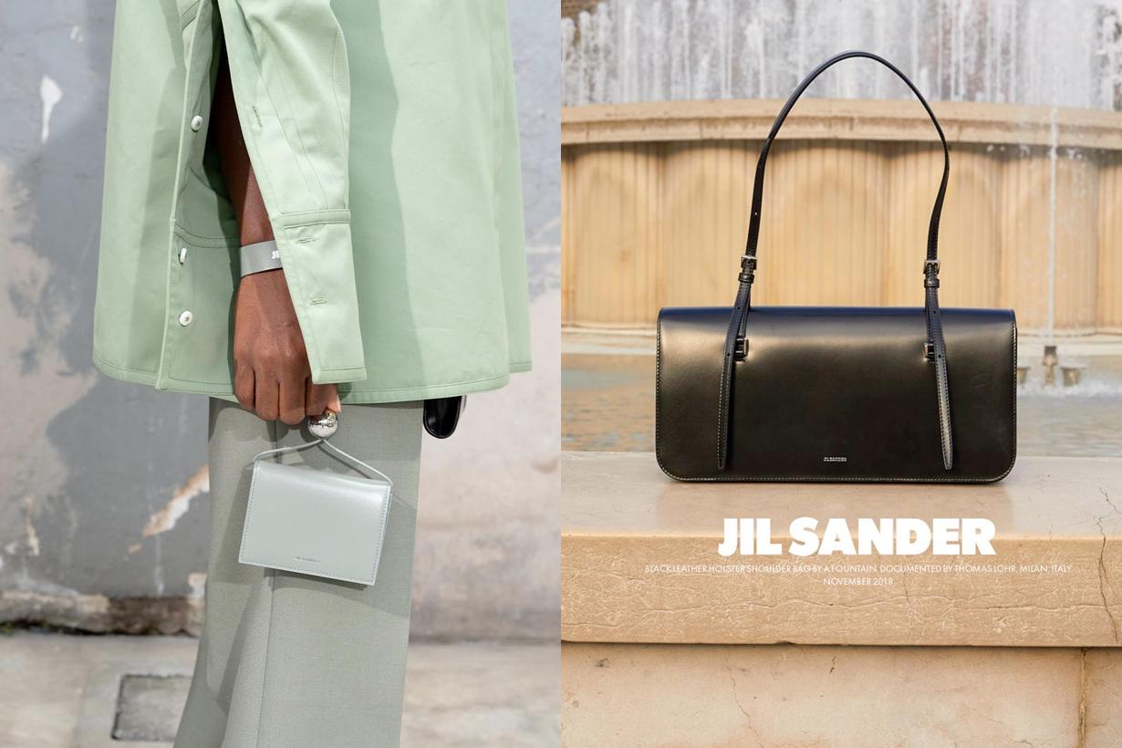 jil sander handbags holster new in ss19 fw19