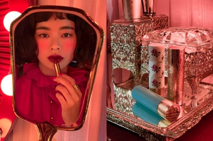 彩妝迷暴動:Gucci 唇膏「細節近照」曝光,由韓國美妝達人率先公開試色!