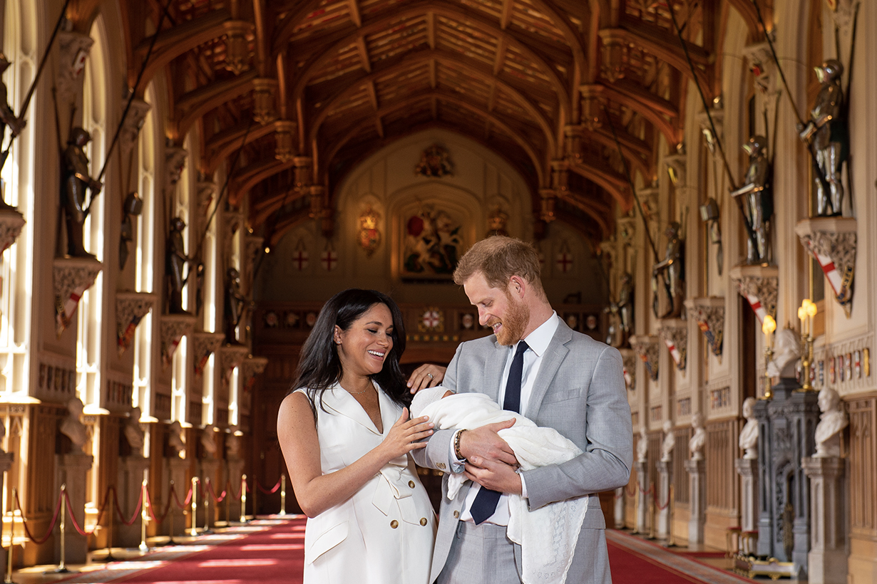 meghan markle prince harry first wedding anniversary on instagram
