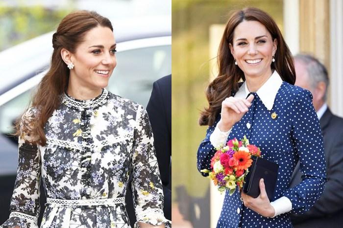 再牽搶購潮:凱特身上這條價錢「貼地」的裙子,正好趕上今季潮流!