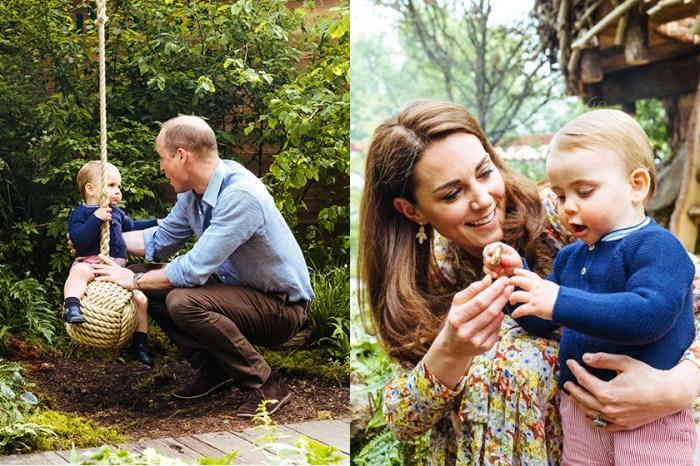 凱特一家發佈新家庭照,網民驚嘆小王子、小公主長大得太快!