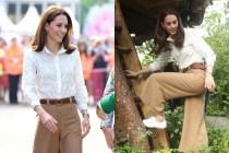 凱特罕穿白球鞋亮相:平價、簡潔又耐穿,難怪詢問度極高!