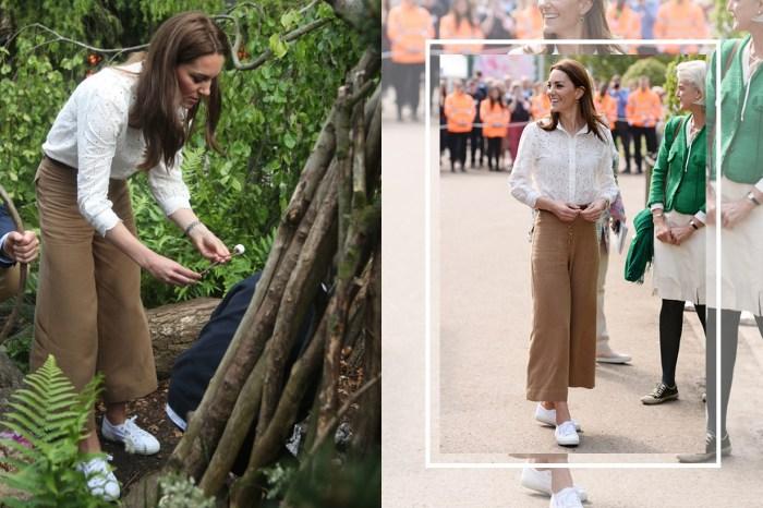 凱特竟不穿常見的緊身牛仔褲造型?她身上的平價高質闊腳褲隨即成為網上熱搜單品!