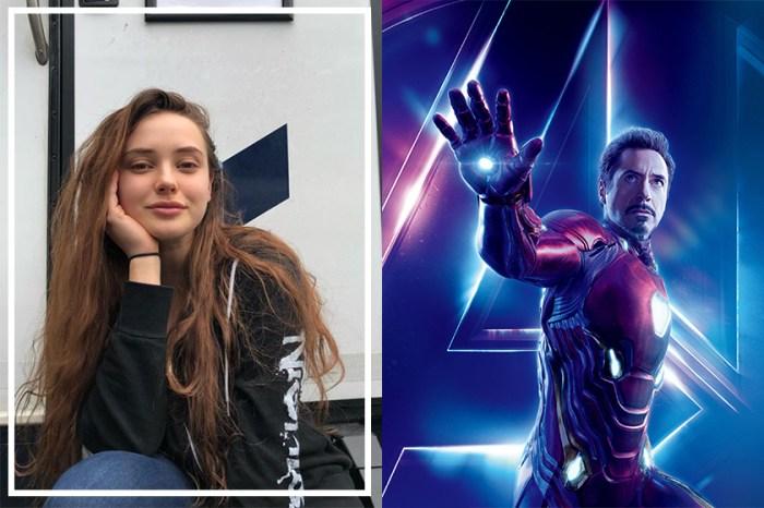 飾演 Iron-Man 女兒的 Katherine Langford 劇份被全刪,她只能以「…」作回應!