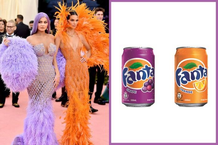 Kendall 和 Kylie 是灰姑娘繼姊、芬達汽水?Met Gala 造型慘遭網民惡搞!