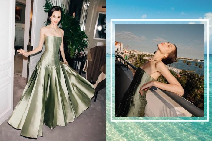 水原希子化身復古公主亮相康城影展!一身 Dior 造型美艷動人令人讚不絕口