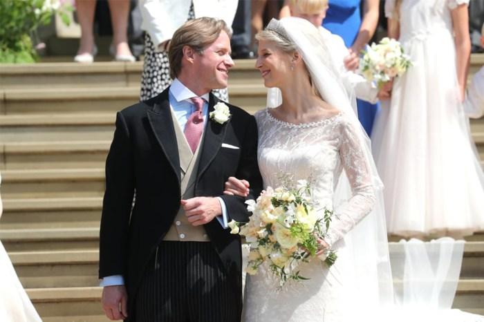 又一場皇室大婚!才貌雙全的 Lady Gabriella 出嫁,婚紗原來不是純白色?