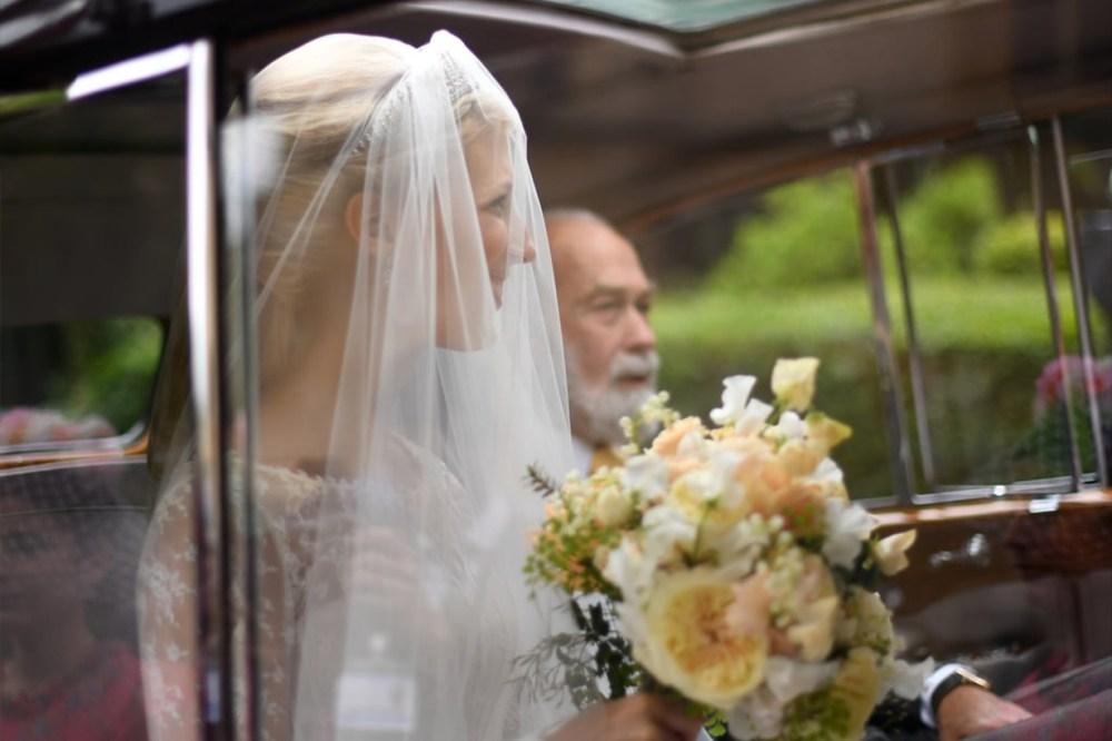 Lady Gabriella Luisa Beccaria Wedding Dress Royal
