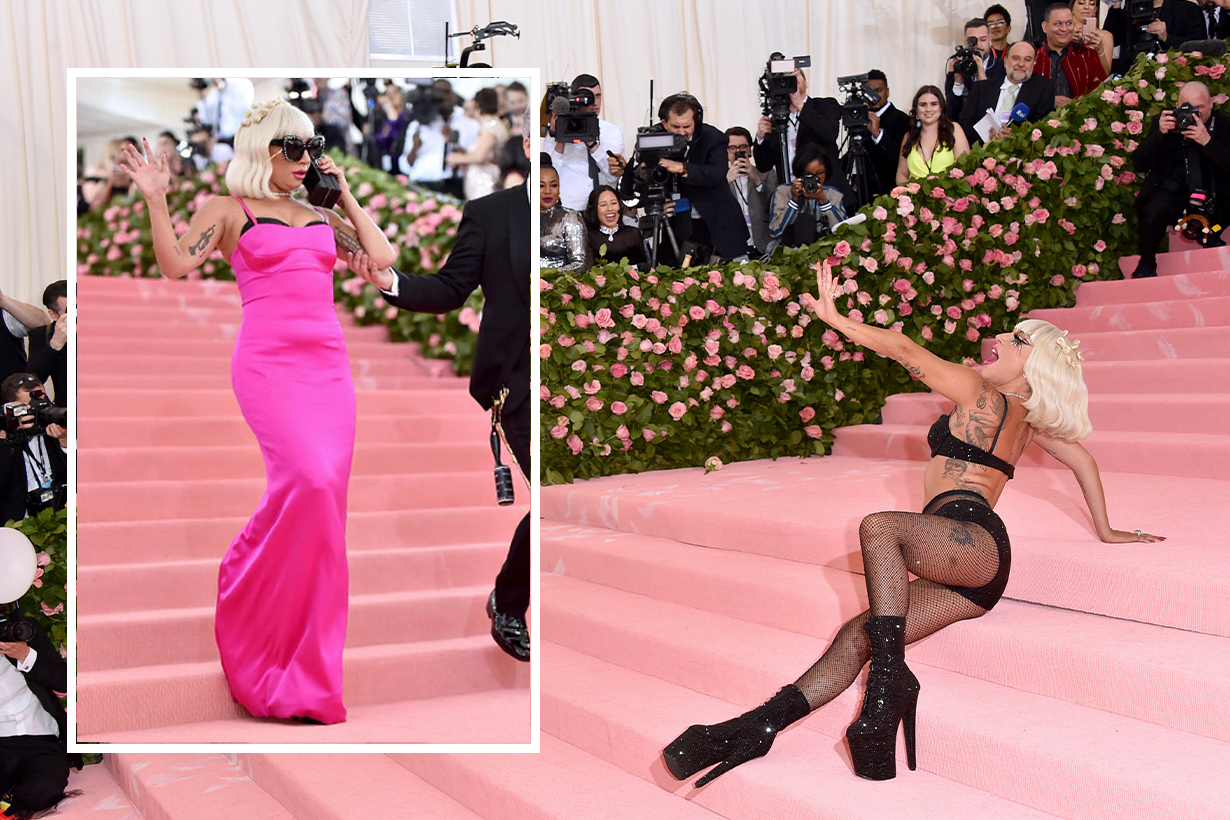 Give Lady Gaga Another Oscar for Her Met Gala Entrance