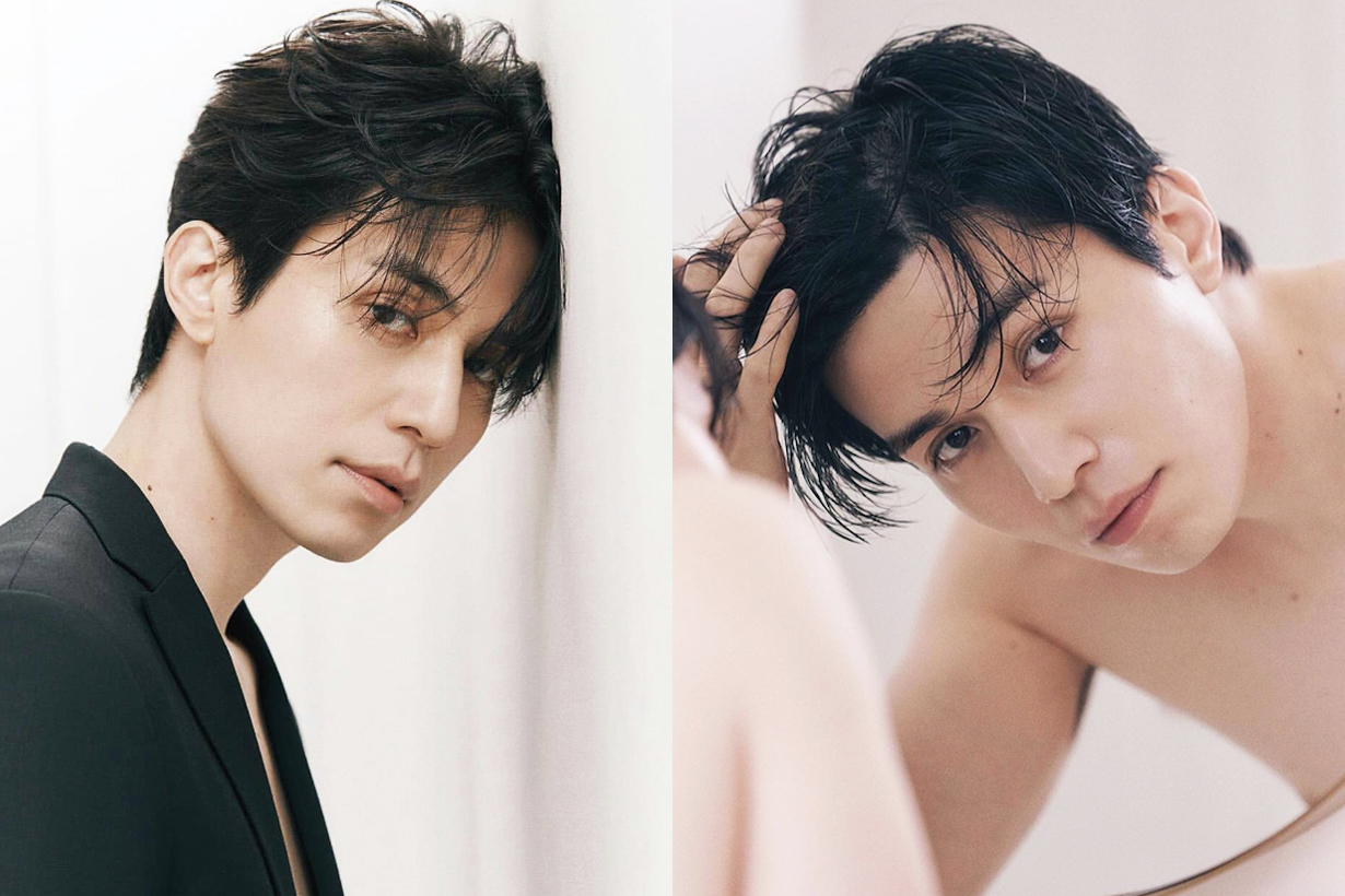 Lee Dong Wook Korea Marie Clarie June Cover Magazine Editorial Shoot chanel ambassador fat boy photos weibo k pop korean idols celebrities actors