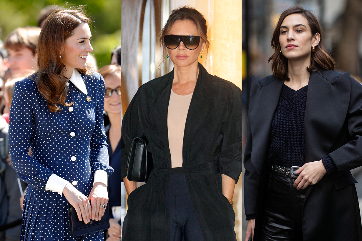Victoria Beckham, Kate Middleton and Alexa Chung Can't Stop Wearing These 3 Trends