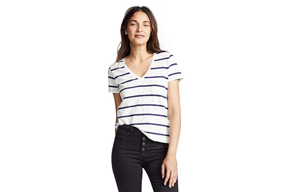 Madewell Whisper Striped Tee