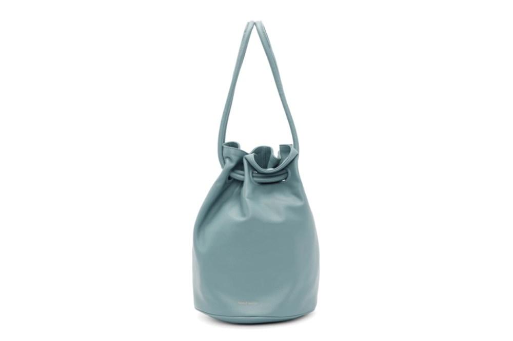 Mansur Gavriel Blue Drawstring Bag