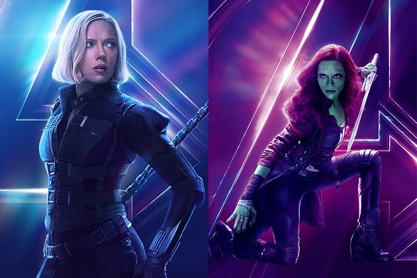 marvel avengers endgame Black Widow dead Gamora come back