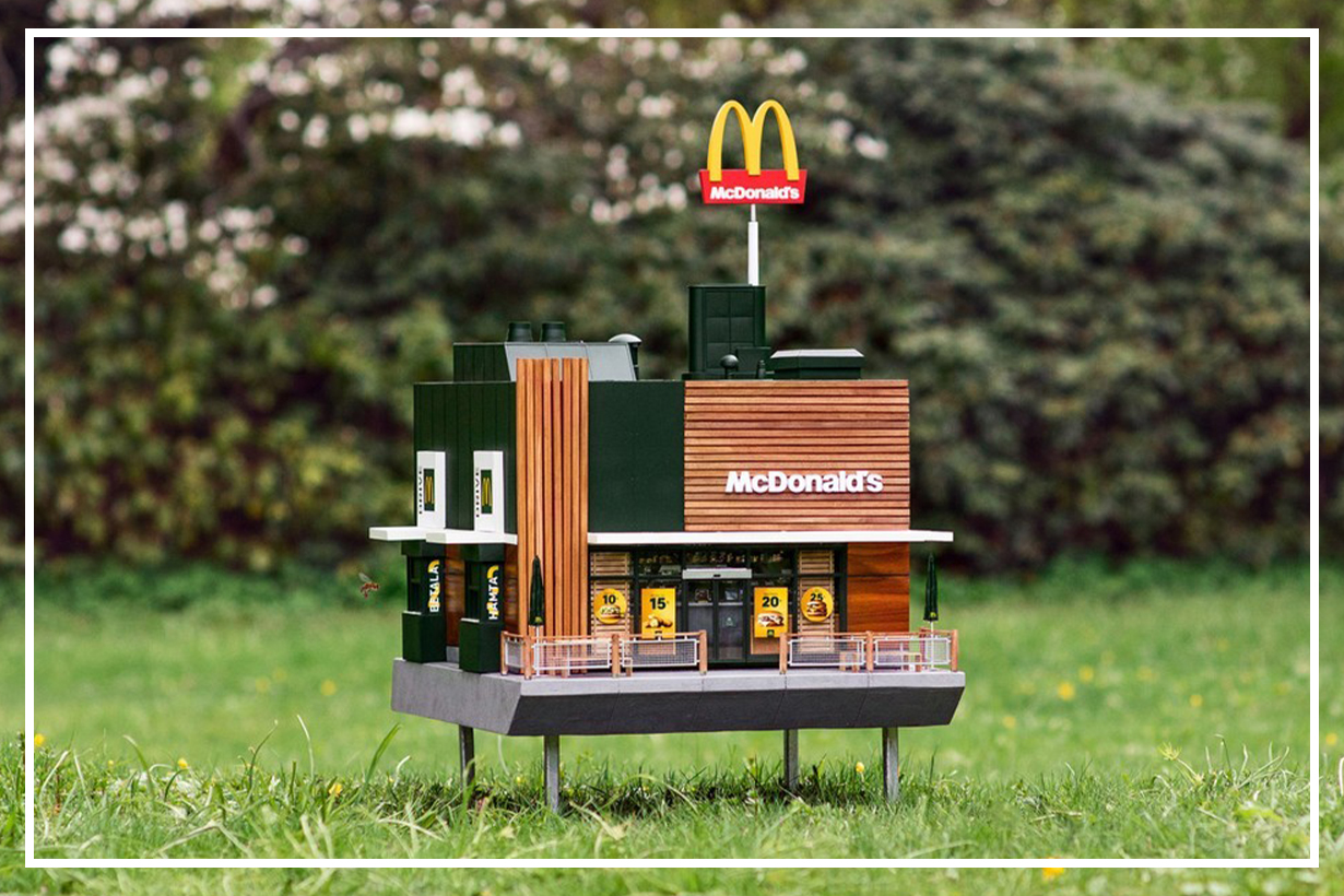 McDonald's Opens McHive, the World's Smallest Restaurant for Bees